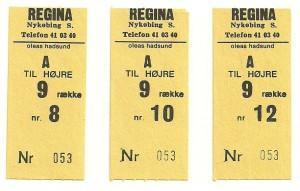 Regina billeter