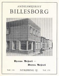 Mejeriet billesborg0002 - 1940