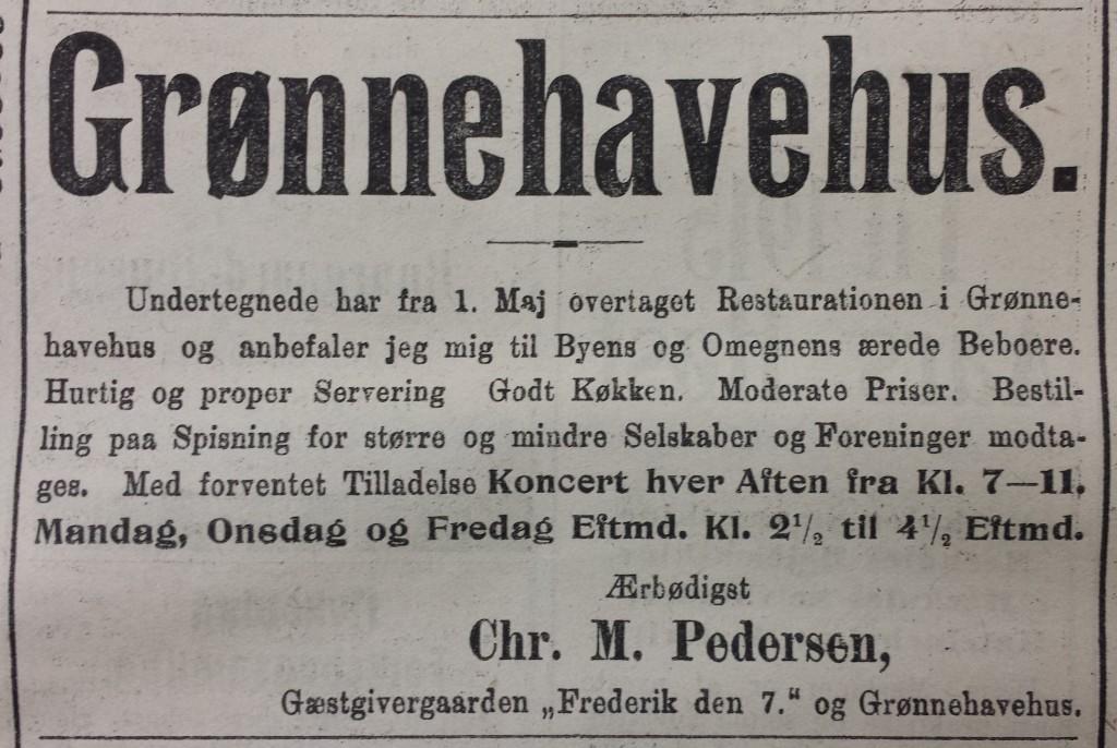 Chr. Petersen overtager forpagtningen
