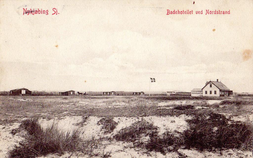 Her se cottagerne der blev bygget af Niels Frandsen.