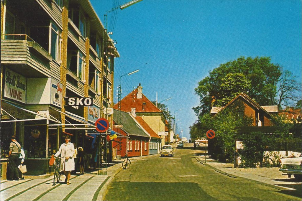 Svanestræde omkring 1965
