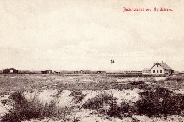 Cottagerer og Badehotel ved Nordstrand ved Nykøbing