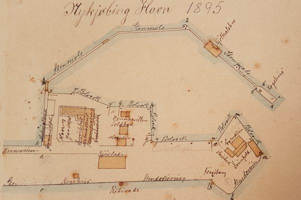 Nykøbing Sj. Havn 1895 | Hilsen fra Odsherred