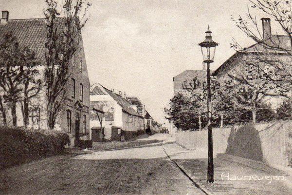 Frederik d. 7. ses til venstre.