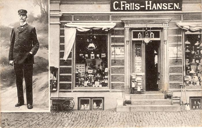 Isenkræmmer C. Friis-Hansen